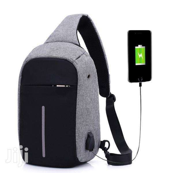 Archive: Anti Theft USB Charging Port Shoulder Chest Cross Body Backpack