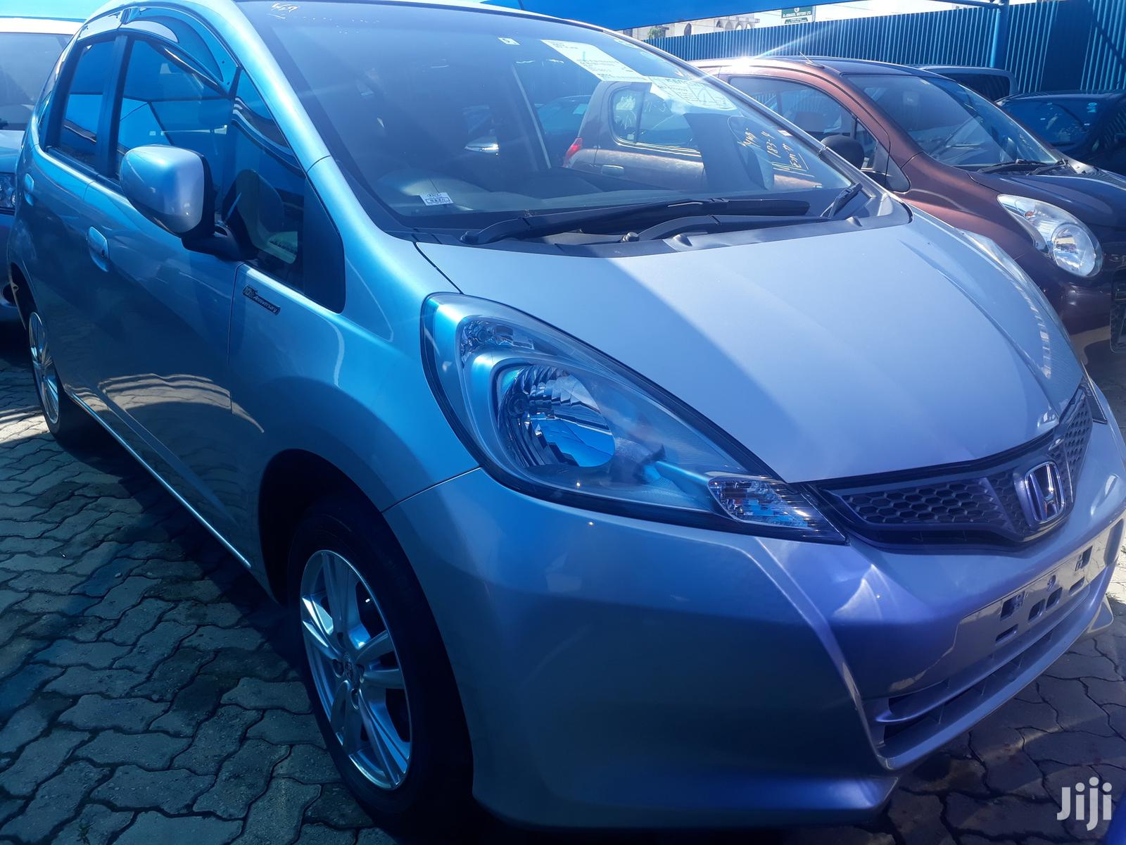 Archive: New Honda Fit 2012 Silver