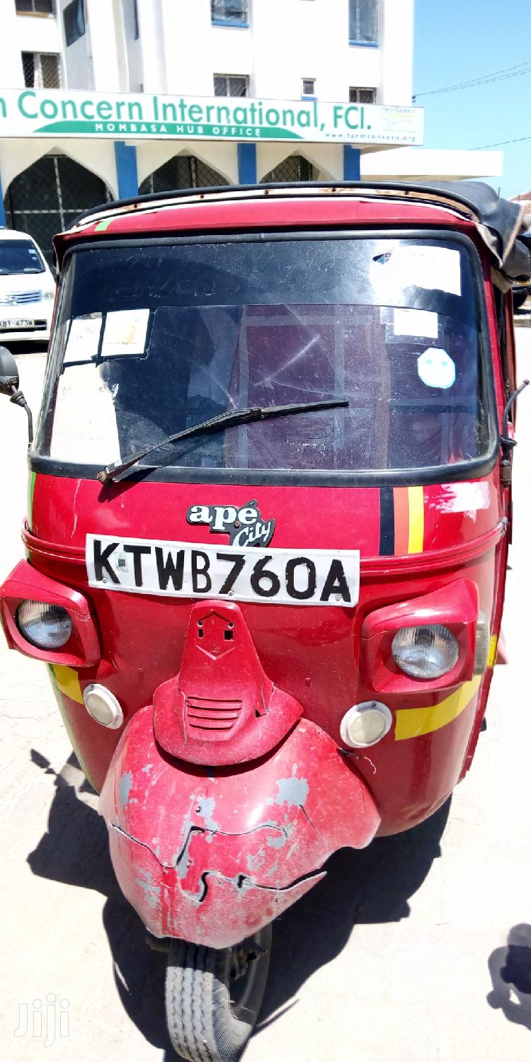 Piaggio 2017 Red | Motorcycles & Scooters for sale in Kisauni, Mombasa, Kenya