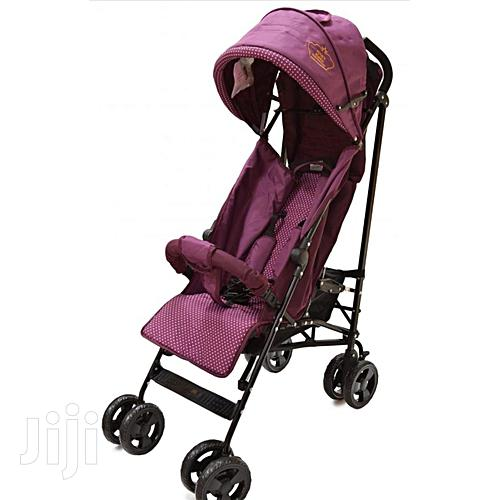 Archive: Blue Lightweight Foldable Baby Stroller/Pram/Push Chair/ Buggy