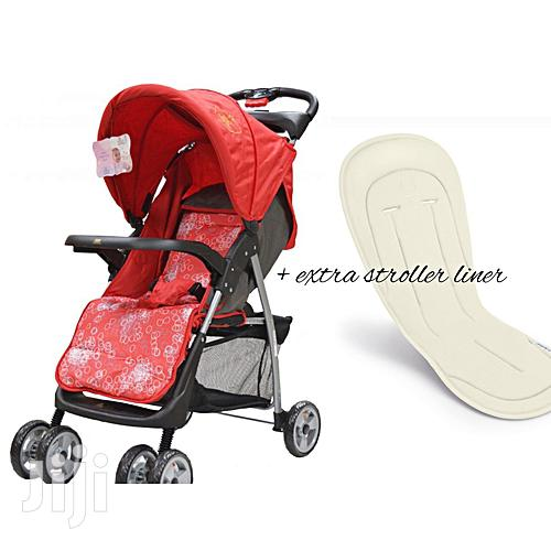 Archive: Foldable Baby Stroller/ Pram/Push Chair/ Buggy & A Stroller Liner
