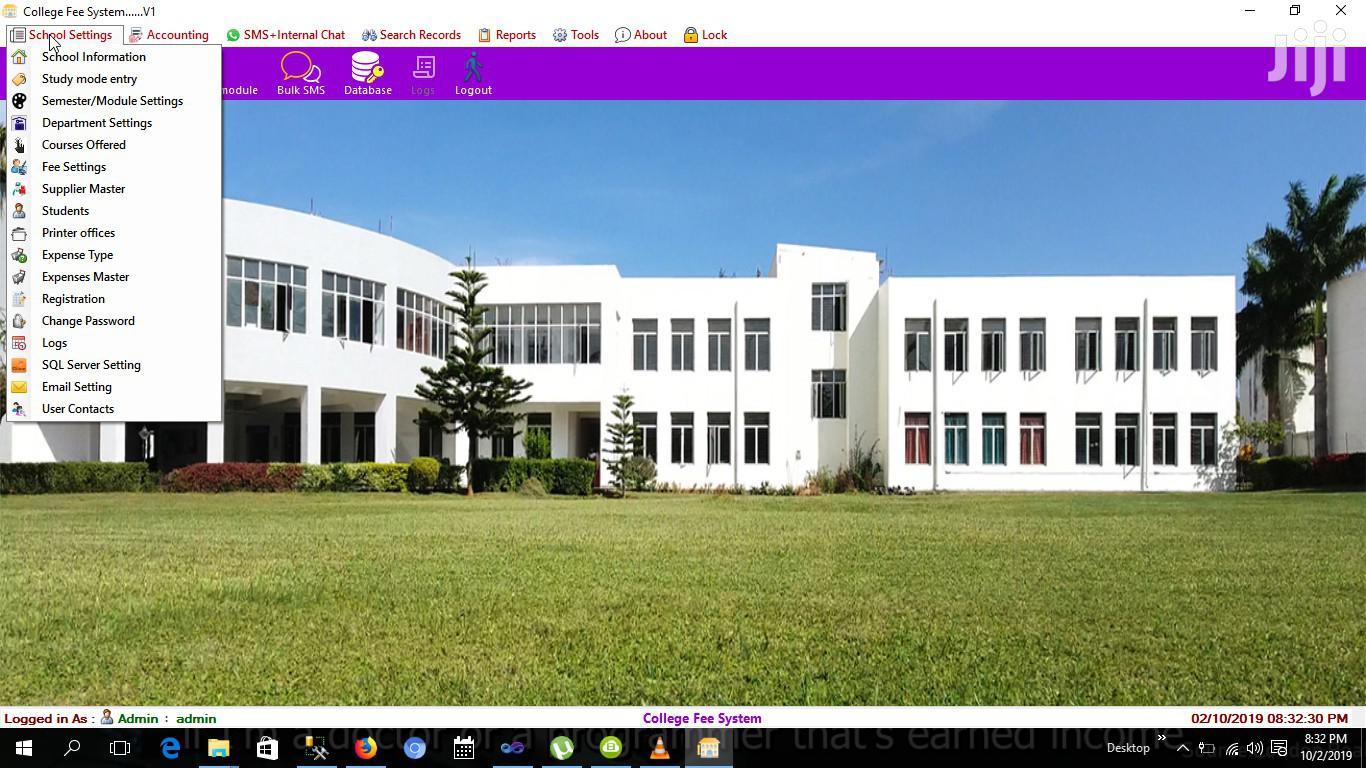 College Fee System   Software for sale in London, Nakuru, Kenya