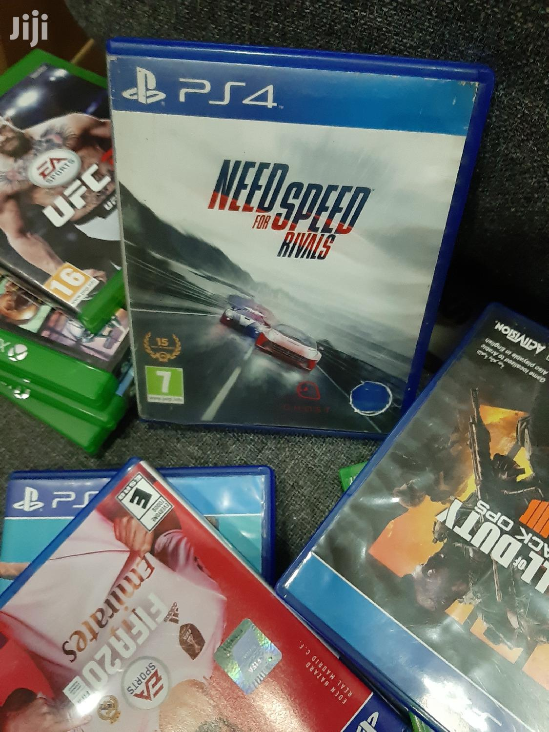 Nfs Need For Speed Rivals Ps4