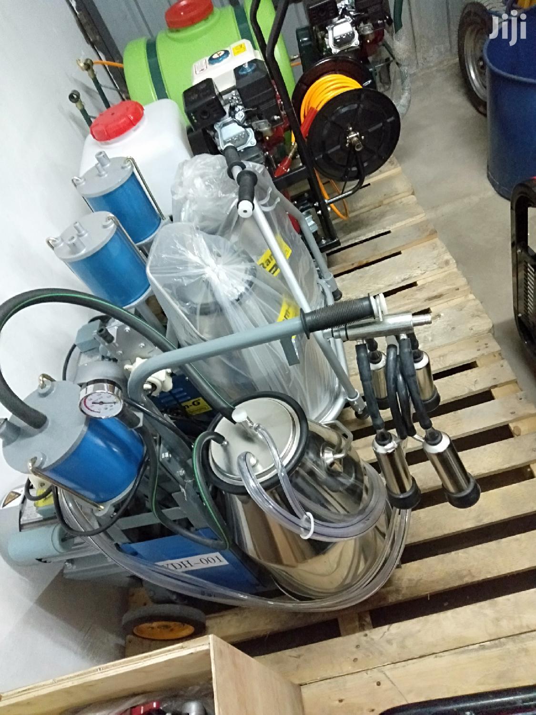 New Milking Machine