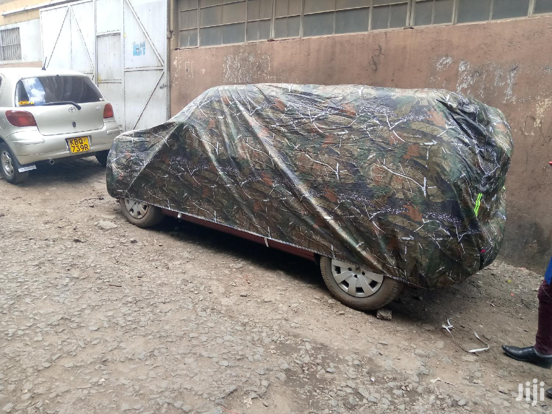 High Density Jungle Green Car Body Covers