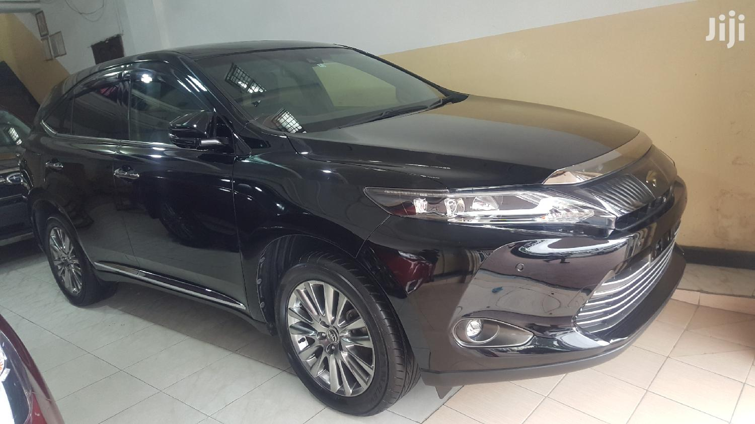 Toyota Harrier 2013 Black