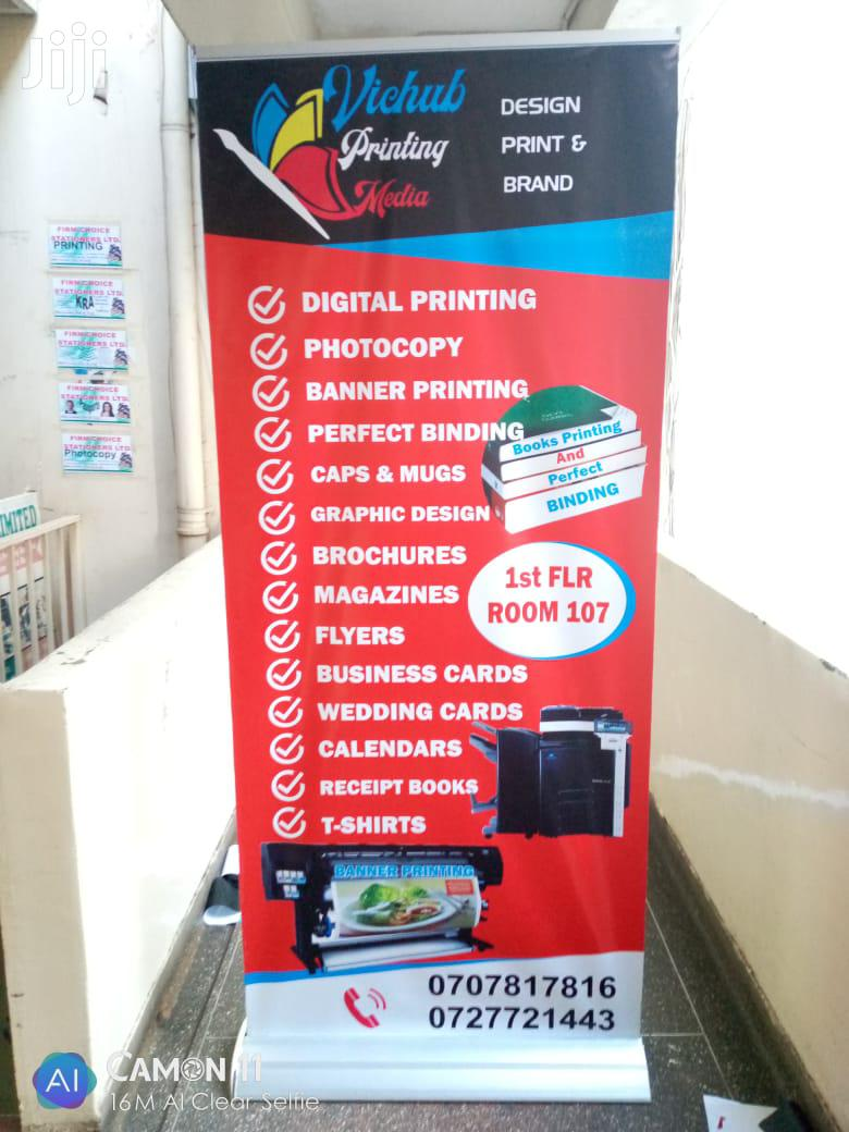 Special Offer For Broad Based Roll Up Banner | Manufacturing Services for sale in Nairobi Central, Nairobi, Kenya