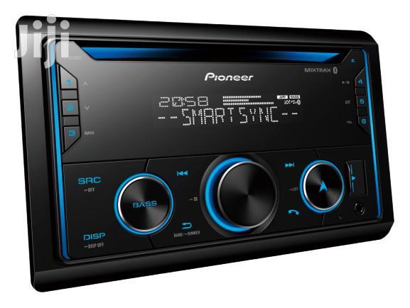 Pioneer FH-S525BT Dual Bluetooth CD FM USB Spotify Siri Eyes