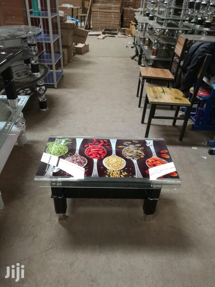 Coloured Top Coffee Table