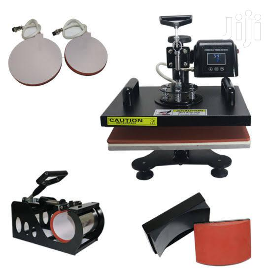 Brand New Best Sublimation T-shirt Printing Heat Press Machine 8 In 1