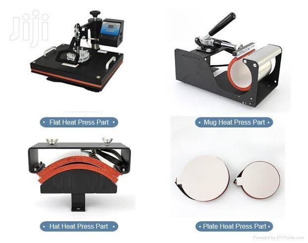 5 In 1 Heat Press T-shirt Branding Machine