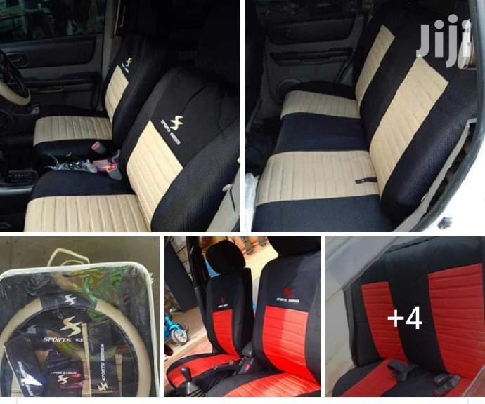 Sport Series Heavy Fabric Seat Cover