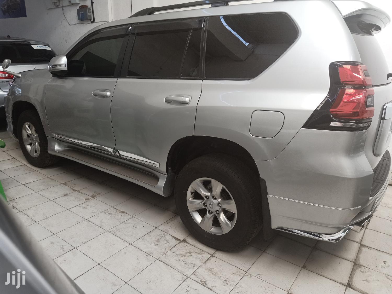 Toyota Land Cruiser Prado 2012 Silver