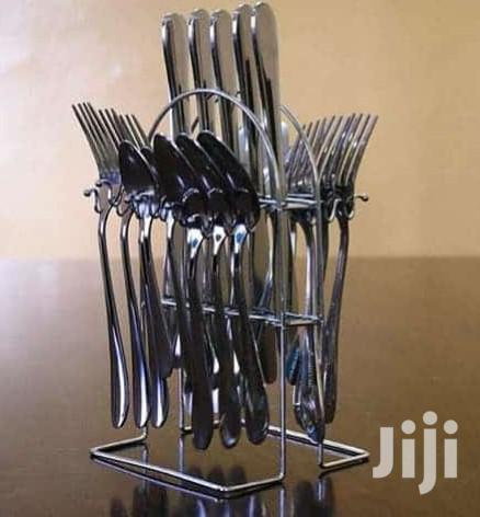 Archive: 24pcs Stainless Steel Cutlery