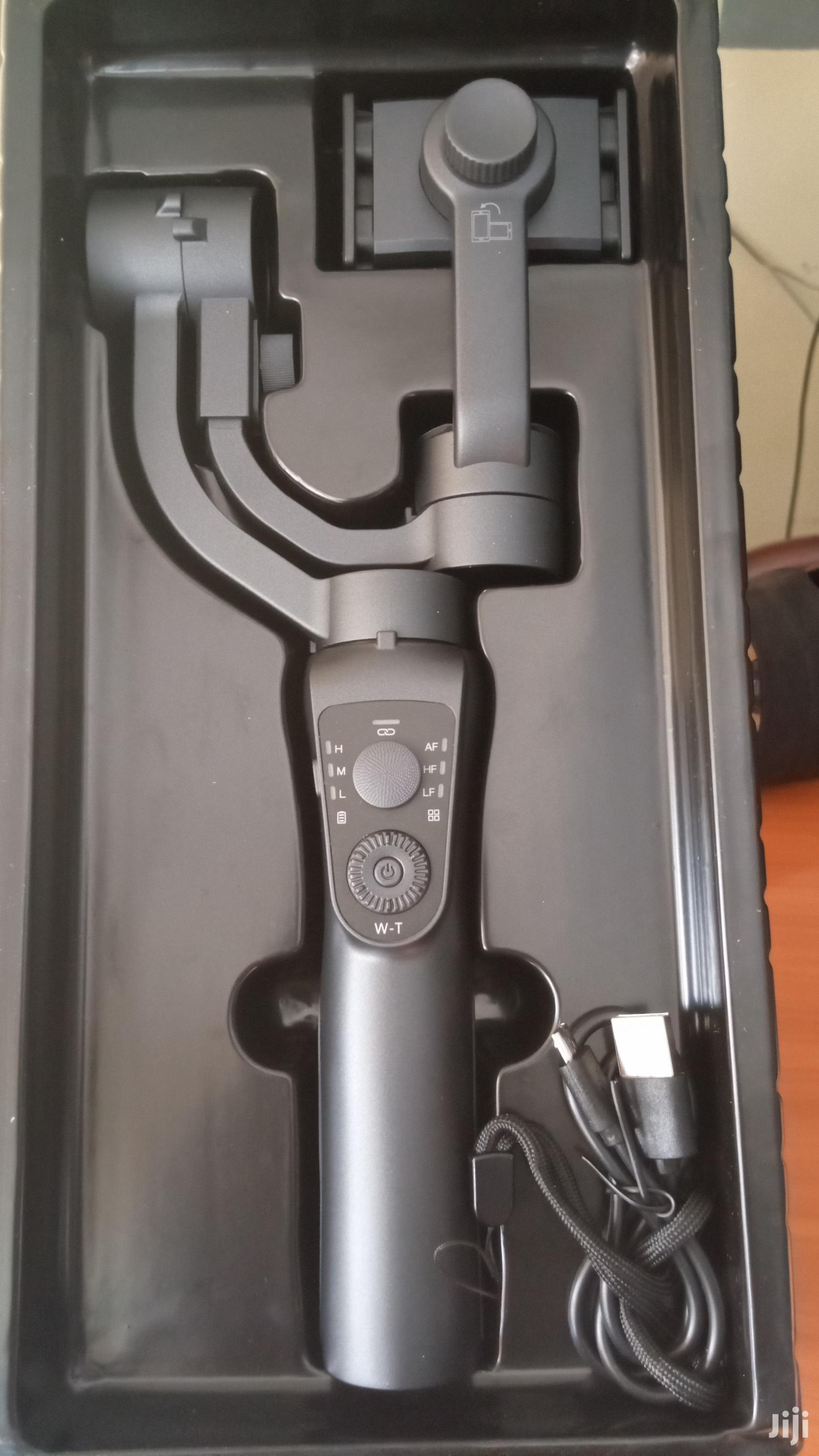 3 Axis S5B Smartphone Gimbal With Bluetooth Control Co | Accessories for Mobile Phones & Tablets for sale in Karen, Nairobi, Kenya