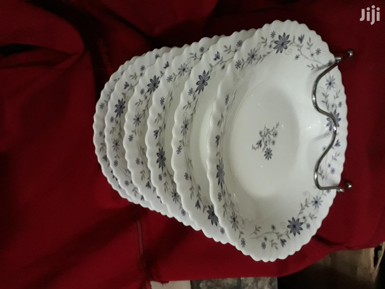 6pc Ceramic Plate/Soup Plate/Plates