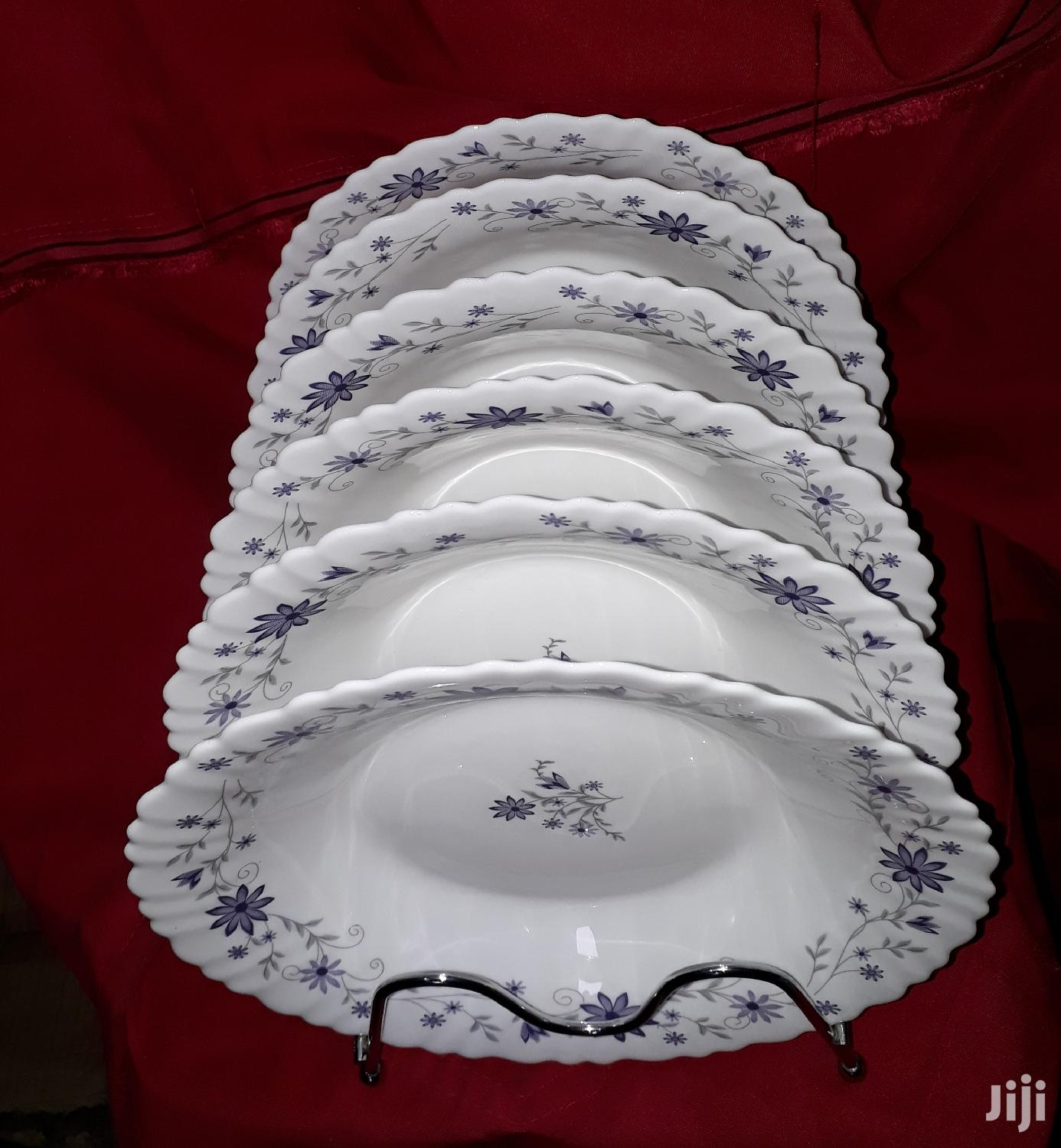 6pc Ceramic Plate/Soup Plate/Plates | Kitchen & Dining for sale in Nairobi Central, Nairobi, Kenya