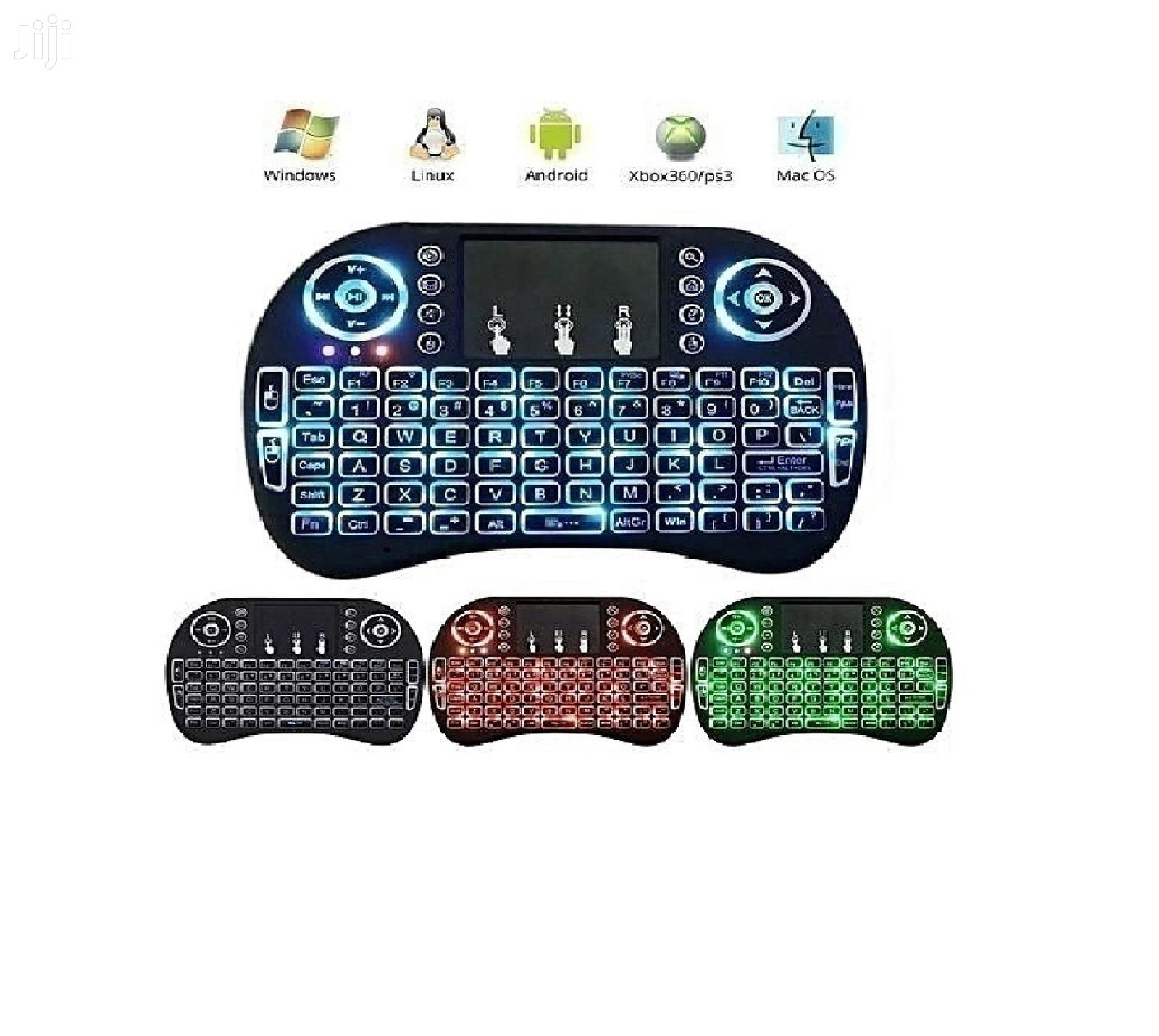 New Wireless Mini Keyboard With Mouse. Recharged Battery