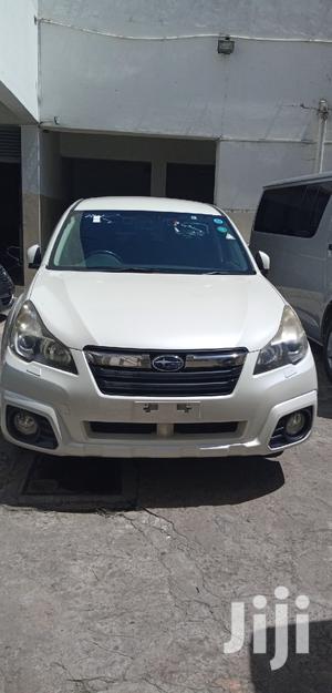 Subaru Outback 2013 2.5i White | Cars for sale in Mombasa, Mvita