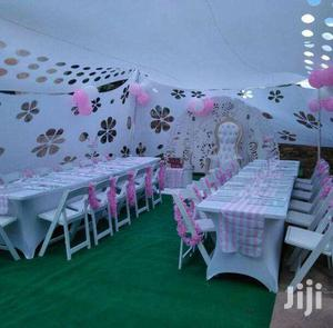 Weddings/Birthday Events  Etc.We Rent Out Chairs/Tables/Tents/Cutlery.