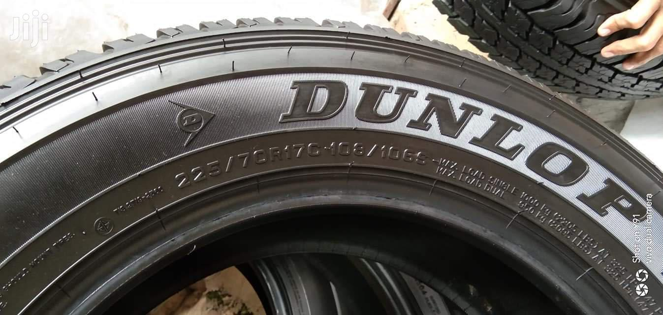 225/70/17 Dunlop Tyre's Is Made In Japan