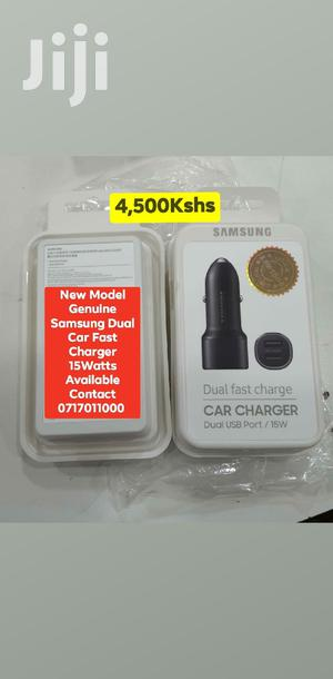 New Model Genuine Samsung Dual Car Fast Charger 15watts | Accessories for Mobile Phones & Tablets for sale in Mombasa, Mvita