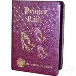 Prayer Rain Leather Bound Dr  Daniel Olukoya. | Books & Games for sale in Nairobi, Nairobi Central