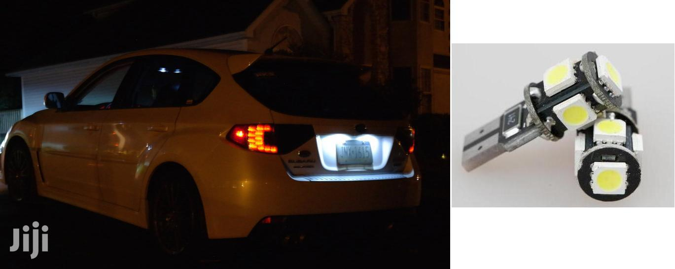 White LED Number Plate Bulbs: For Toyota,Nissan,Subaru,Mazda,Honda,Vw