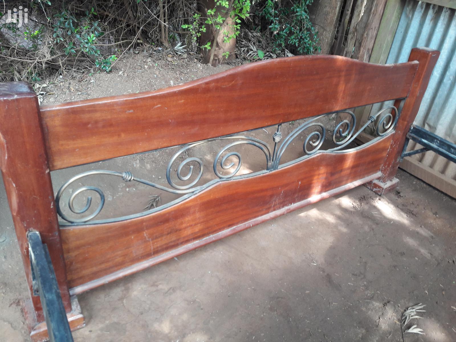 Archive: 6*7 Pure Mahogany Bed