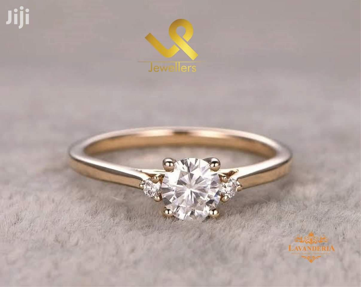 Custom Made Ladies 9k Gold Engagement Ring. Also Done in 18k