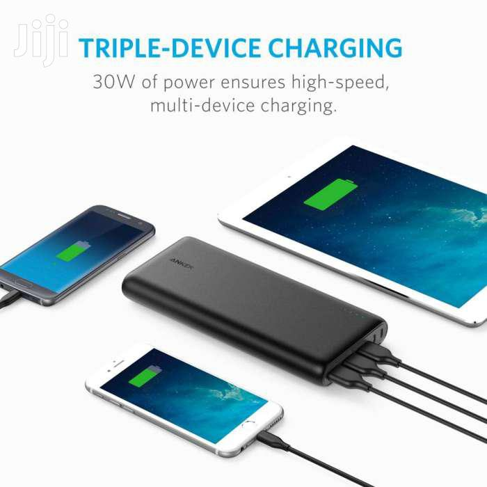 Anker Powercore 26800mah Portable Charger/ Power Bank With Poweriq | Accessories for Mobile Phones & Tablets for sale in Parklands/Highridge, Nairobi, Kenya
