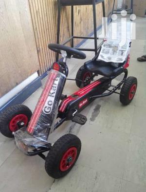 Childrens Kids Pedal Go Kart Cart With Inflatable Wheels | Sports Equipment for sale in Nairobi, Karen