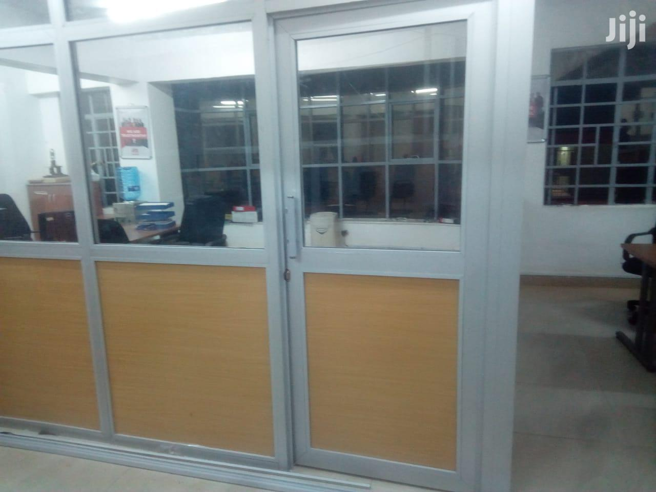 Aluminum Door And Office Partition