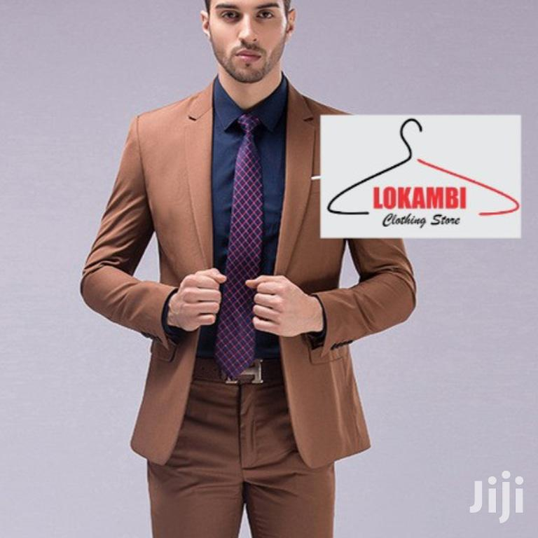 Archive: Coffee Brawn Slim Fit Suits