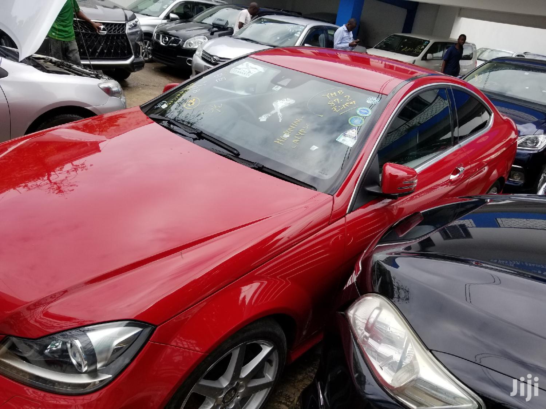 Mercedes-Benz C250 2012 Red   Cars for sale in Tononoka, Mombasa, Kenya