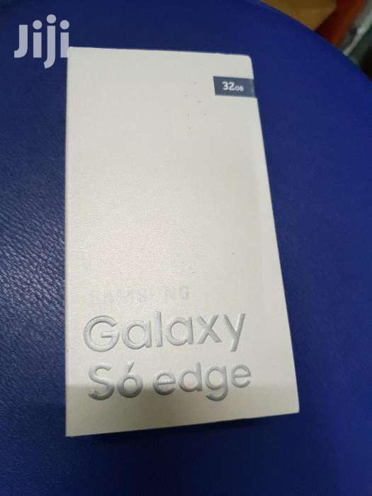 Samsung Galaxy S6 Edge Boxed