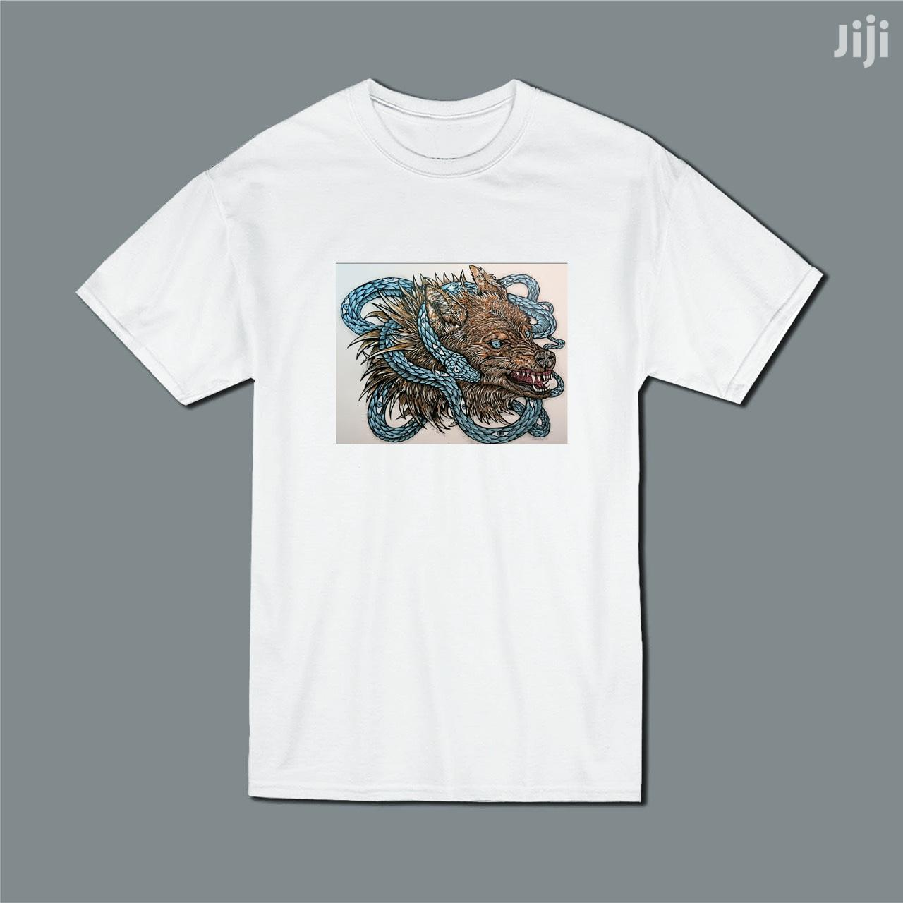 Archive: High Quality Printed White T Shirts