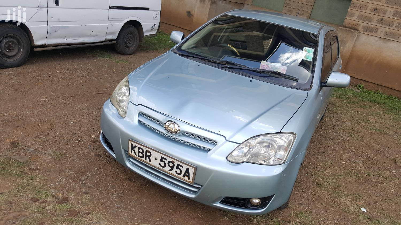 Archive: Toyota Run-X 2005 Blue