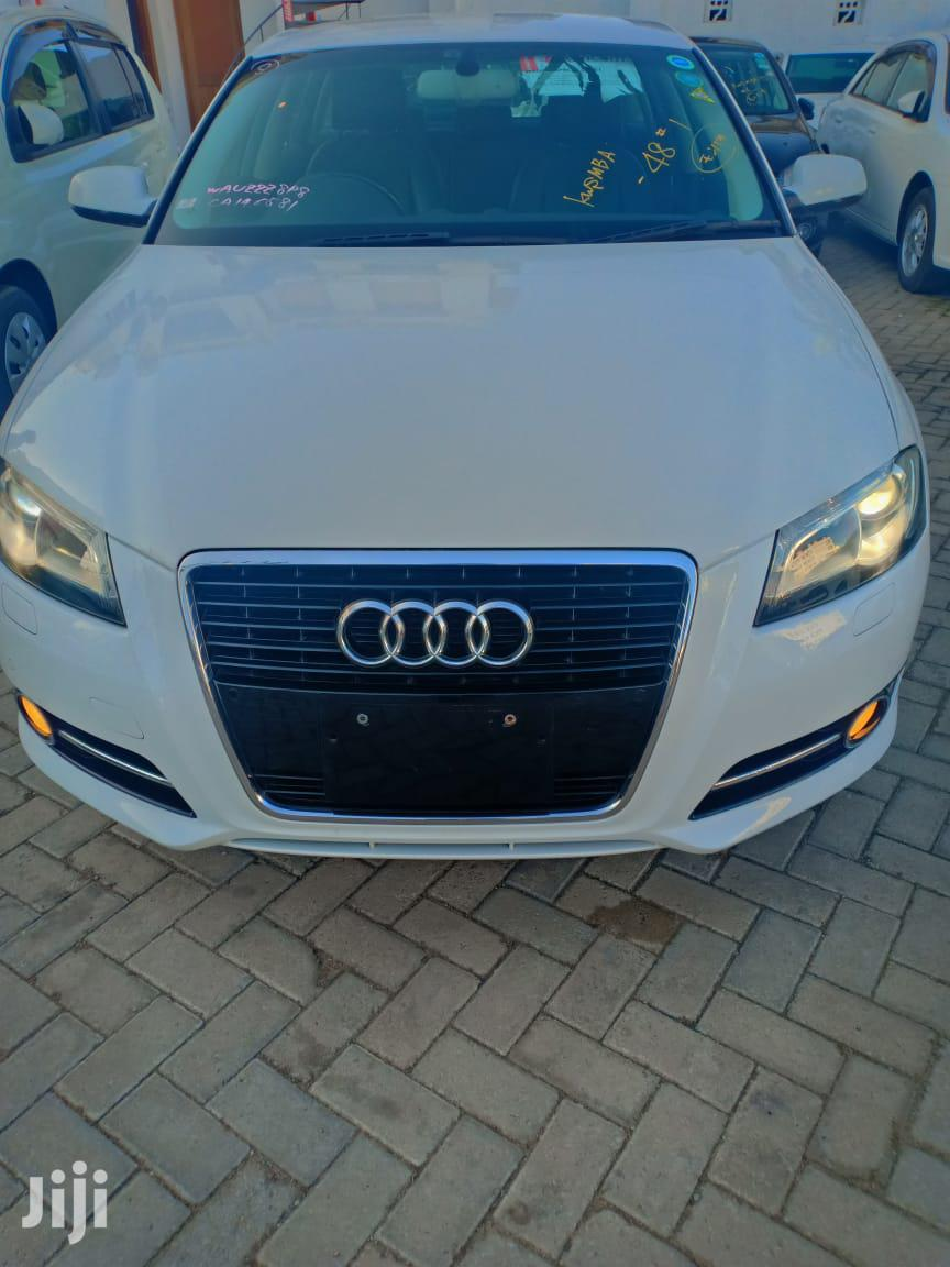 New Audi A3 2012 1.4 TFSi Automatic White | Cars for sale in Tononoka, Mombasa, Kenya
