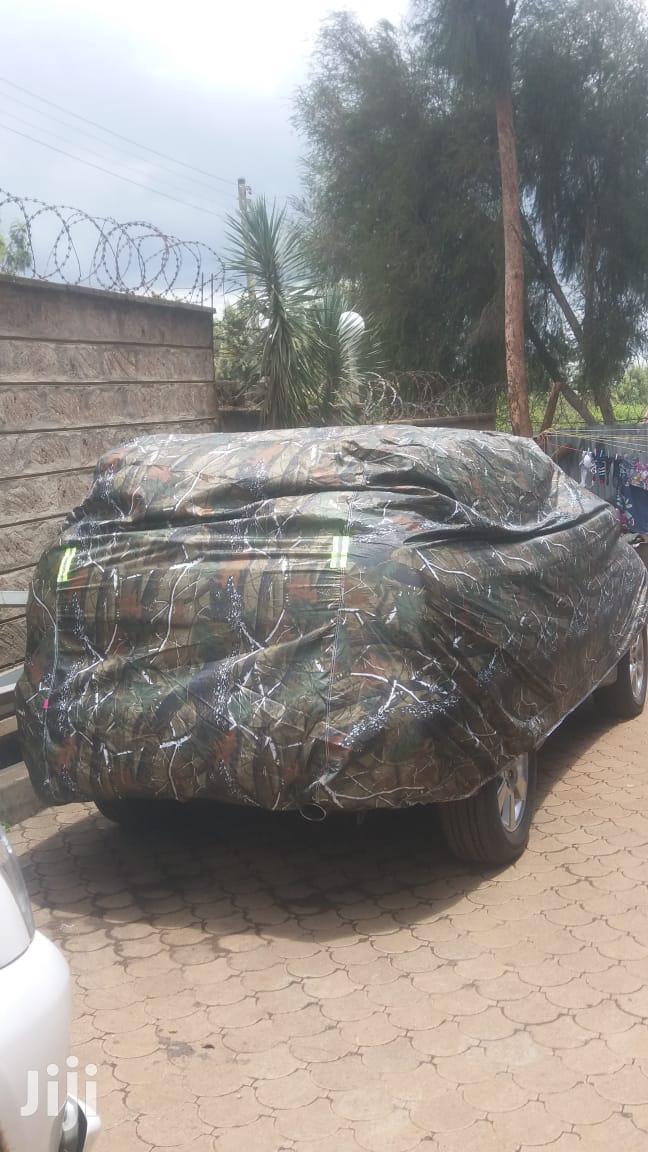 Jungle Green Car Covers