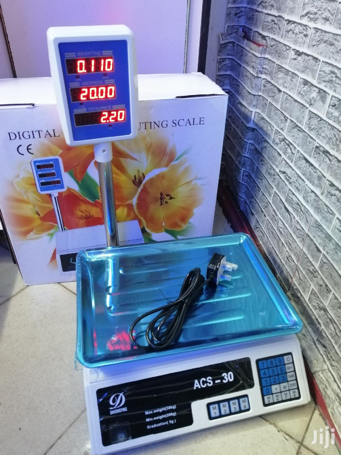 Archive: Acs 30 Series Weighing Scale - 30kgs
