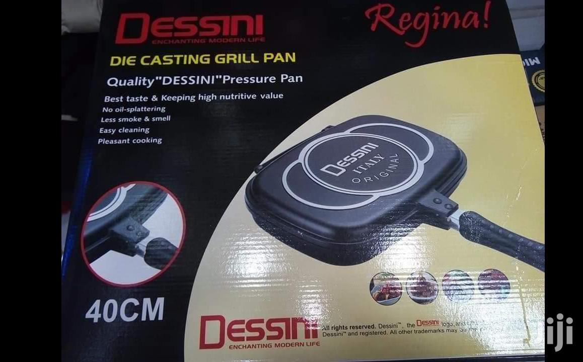 Archive: 40cm Dessin Double Sided Grill Pan