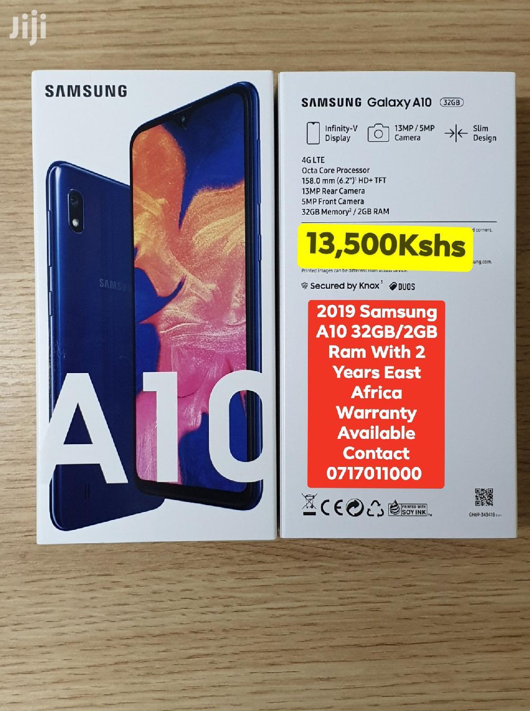 New Samsung Galaxy A10 32 GB Black
