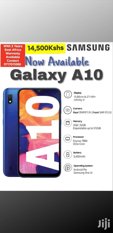 New Samsung Galaxy A10 32 GB Black | Mobile Phones for sale in Mvita, Mombasa, Kenya