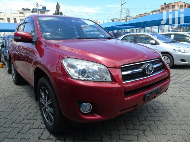 Toyota RAV4 2012 Red