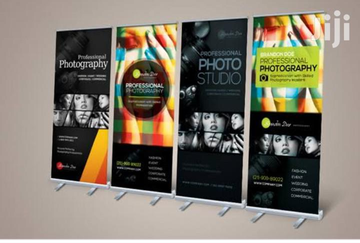 High Resolution Normal Roll Up Banner Printing