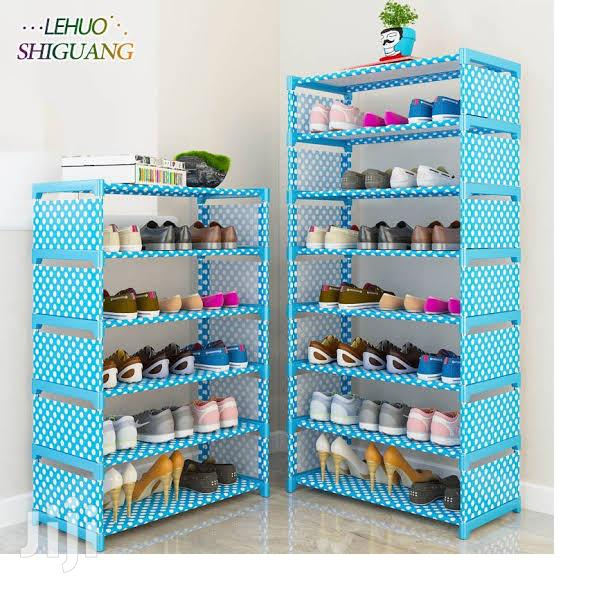 Archive: SHOE RACK 1 Columns Holds 16 Pairs Of Shoes