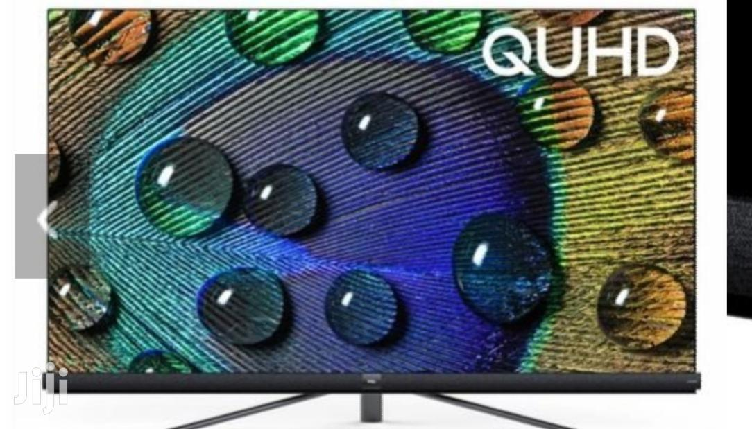 TCL 55 Inch 4K QUHD Smart Android TV 55C8 -2019 Model