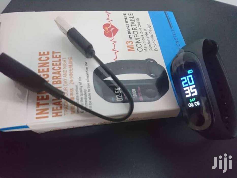 M3 Plus Bluetooth Smart Watch Fitness Tracker Bracelet Heart Rate
