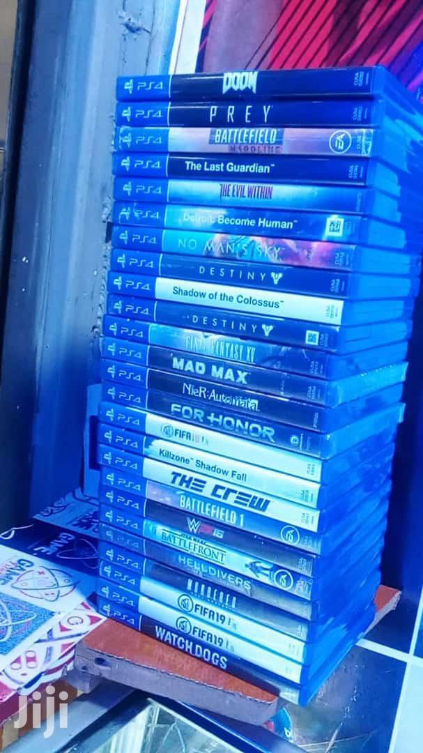 Playstation4 Games
